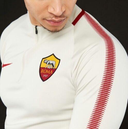 072 Roma As Hommes Fit Dri Squad 17 18 Haut 855135 Nike Drill pour 7wAqxZ4