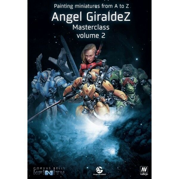 Vallejo Book - Painting Miniatures from A to Z (Masterclass Volume 2) by Angel G