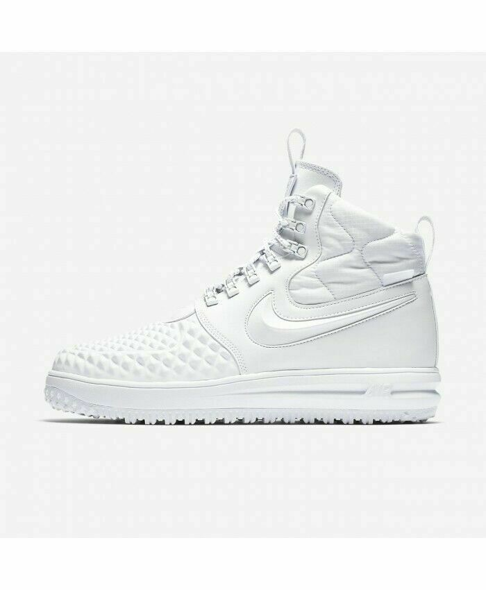 Nike LF1 Duckboot '17 PRM Lunar Force Triple White Mult Sizes AA1123 100