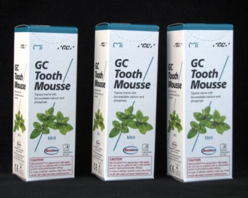 GC Tooth Mousse whitening sensitivity toothache dry mouth bad breath braces M3