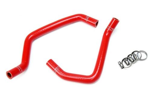 HPS Red Silicone Heater Hose Kit Coolant For Toyota 07-11 Tundra 5.7L V8