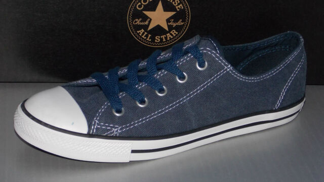 85b266e9fb4 Converse Ct as Dainty Ox Womens Size 5 Blue Athletic SNEAKERS Shoes ...