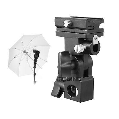 Flash Bracket B Shoe Umbrella Holder LightStand for Canon/Nikon/Yongnuo Camera