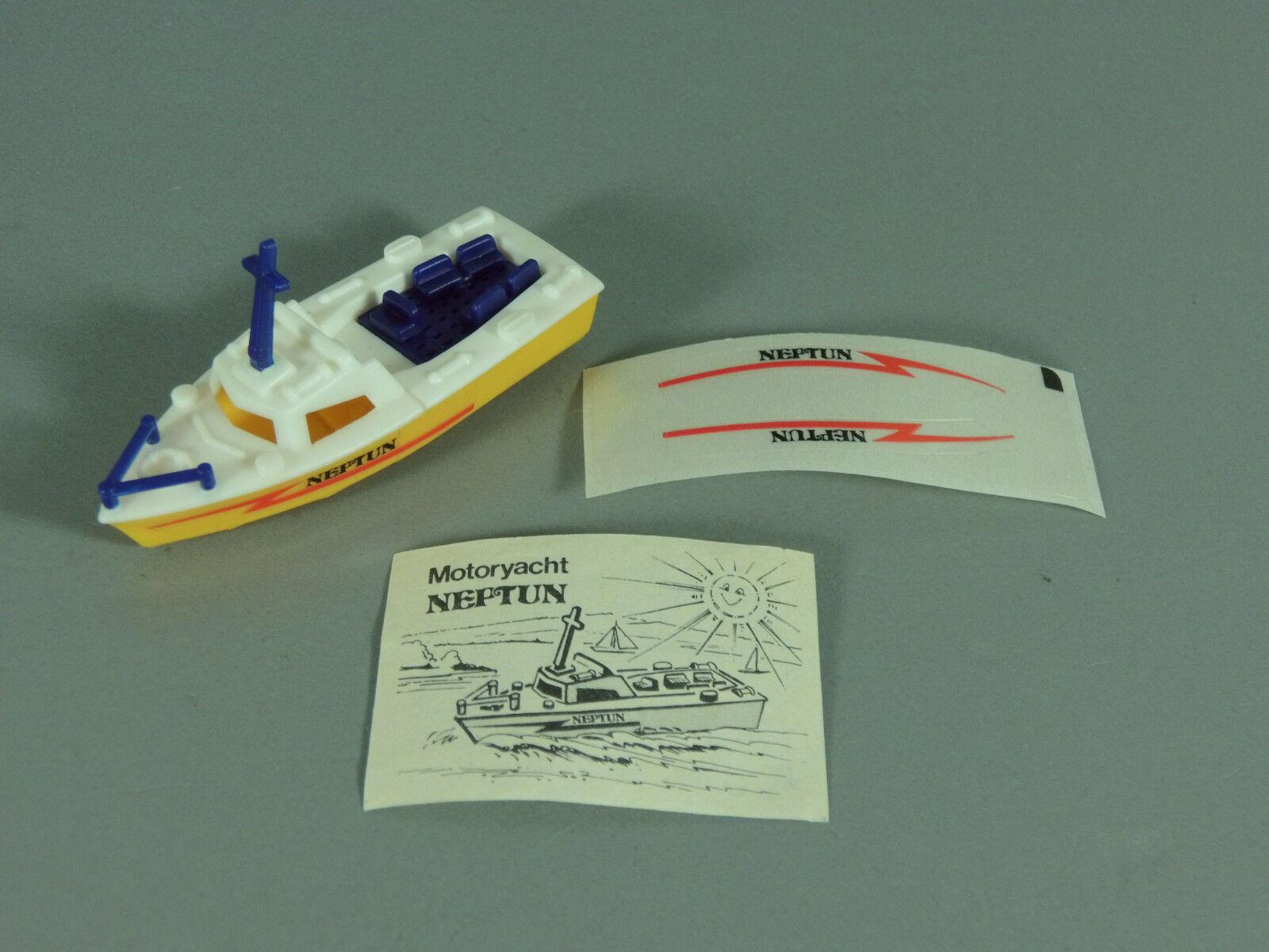 Ships  Motor Yacht Neptune D 1987 - Model 1+ BPZ + AKF
