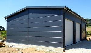 isolierte stahlhalle garage 9 x 11 x 3 4 4 50 m neu ebay. Black Bedroom Furniture Sets. Home Design Ideas