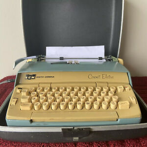 Vintage Smith Corona Coronet Electric Typewriter Light ...