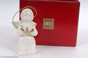48a782c45eb Image is loading Mikasa-Porcelain-Angel-Christmas-Ornament-Praying-Angel-3-