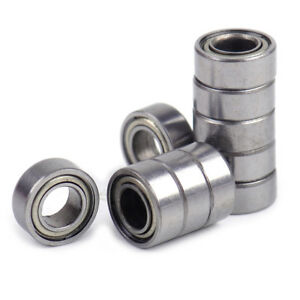 10X-MR105-Kugellager-MR105ZZ-Rillenkugellager-Miniatur-Ball-Bearings-5X10X4mm