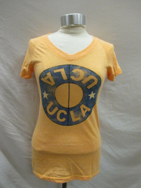 UCLA Bruins Womens S Yellow T-shirt NCAA  A15TL
