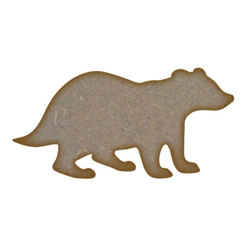 Badger MDF Laser Cut Craft Blanks in Various Sizes