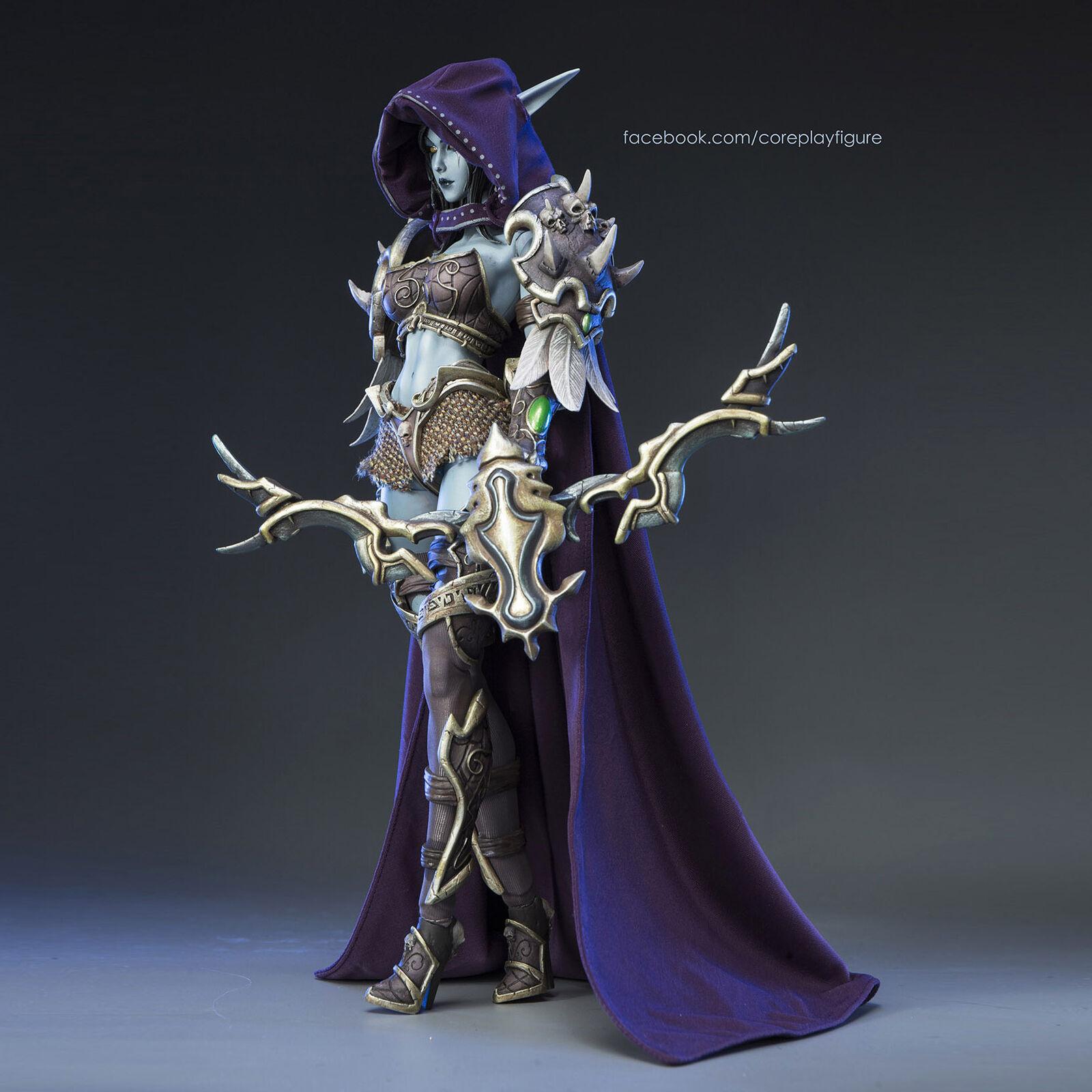 CoreJugar World of Warcraft Sylvanas Brisaveloz 1 6 Escala Figura De Acción