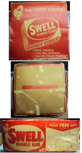 1950s-60s-Swell-Bubblegum-Counter-Display-Box-Empty-amp-Bubble-Buck-Prize-Catalog