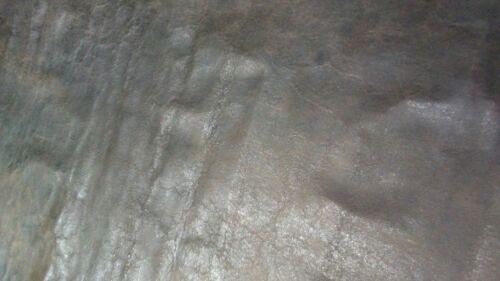 Italian Sheepskin Leather Skin Hide Soft distressed matte brown 7 Sq.Ft 1.5 oz