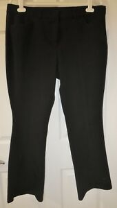 NWOT-Women-039-s-Isaac-Mizrahi-Regular-24-7-Stretch-Boot-Cut-Fly-Front-Pants-18W
