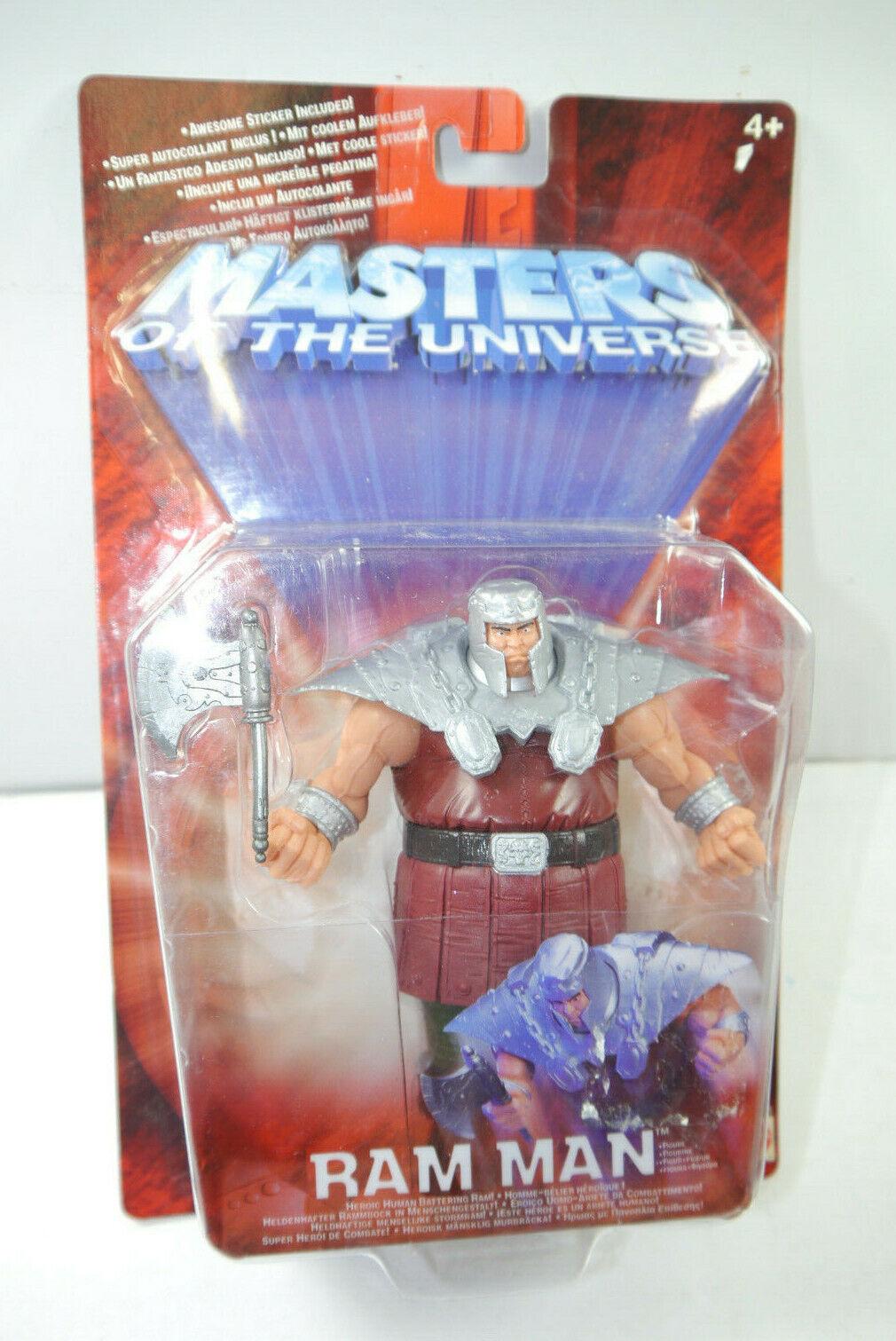 Masters of the Universe Motu 200x Ram Man Action Figure Mattel Approx. 15cm (L)