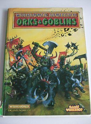 Flight Tracker Warhammer Libro Esercito Orchi E Goblin Edizione Tedesca-mostra Il Titolo Originale Vendite Economiche 50%