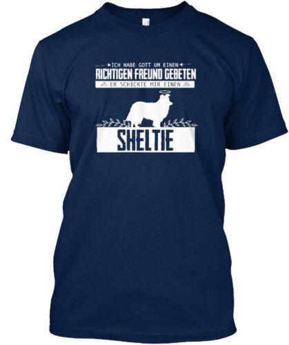 Hunde Richiger Freund Sheltie Stylisches T-Shirt
