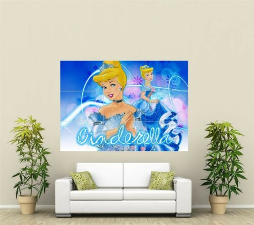Cinderella Giant XL Section Wall Art Poster KR130