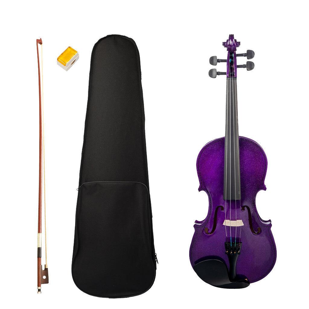 Kit per violino principiante per violino acustico 4 4 con regalo musicale