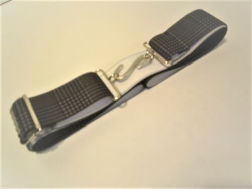 melford abstract elastic belts with snake buckle non slip adjuster 1.1//2 wide