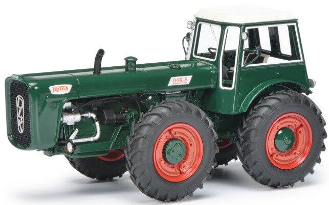 SCH8964 - Tracteur 4 roues égales DUTRA D4K Color verde édité à 500 unités  - 1