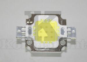 Led-10W-Bianco-Caldo-High-Power-light-Lamp-SMD-Chip-DC-9-12V-Ricambio-Faro
