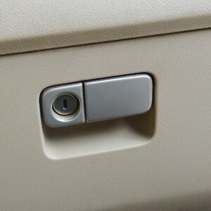 1998 HONDA CR-V CRV  GLOVE BOX LATCH LOCK HANDLE GRAY