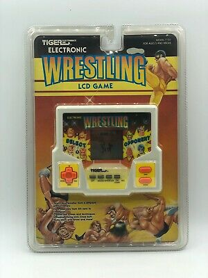 ** Wrestling ** LCD game by Tiger Electronics | eBay