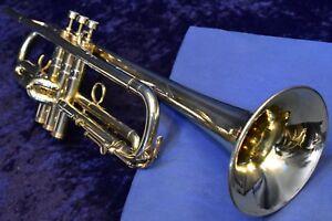 """1931 Conn 2b """"new World Symphony"""" (stenberg Gravé) Trompette Avec étui, Mpc-afficher Le Titre D'origine 1h4g93v3-07163010-687290180"""