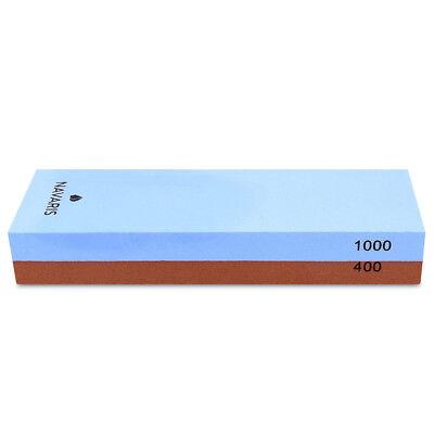 Sharpeners Doppelseitiger Messer Wetzstein 400/1000 Körnung Schleifstein Silikon Halter Refreshing And Beneficial To The Eyes