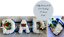 Dad Artificial Silk Funeral Flower Package Tribute Heart Letter Name Memorial
