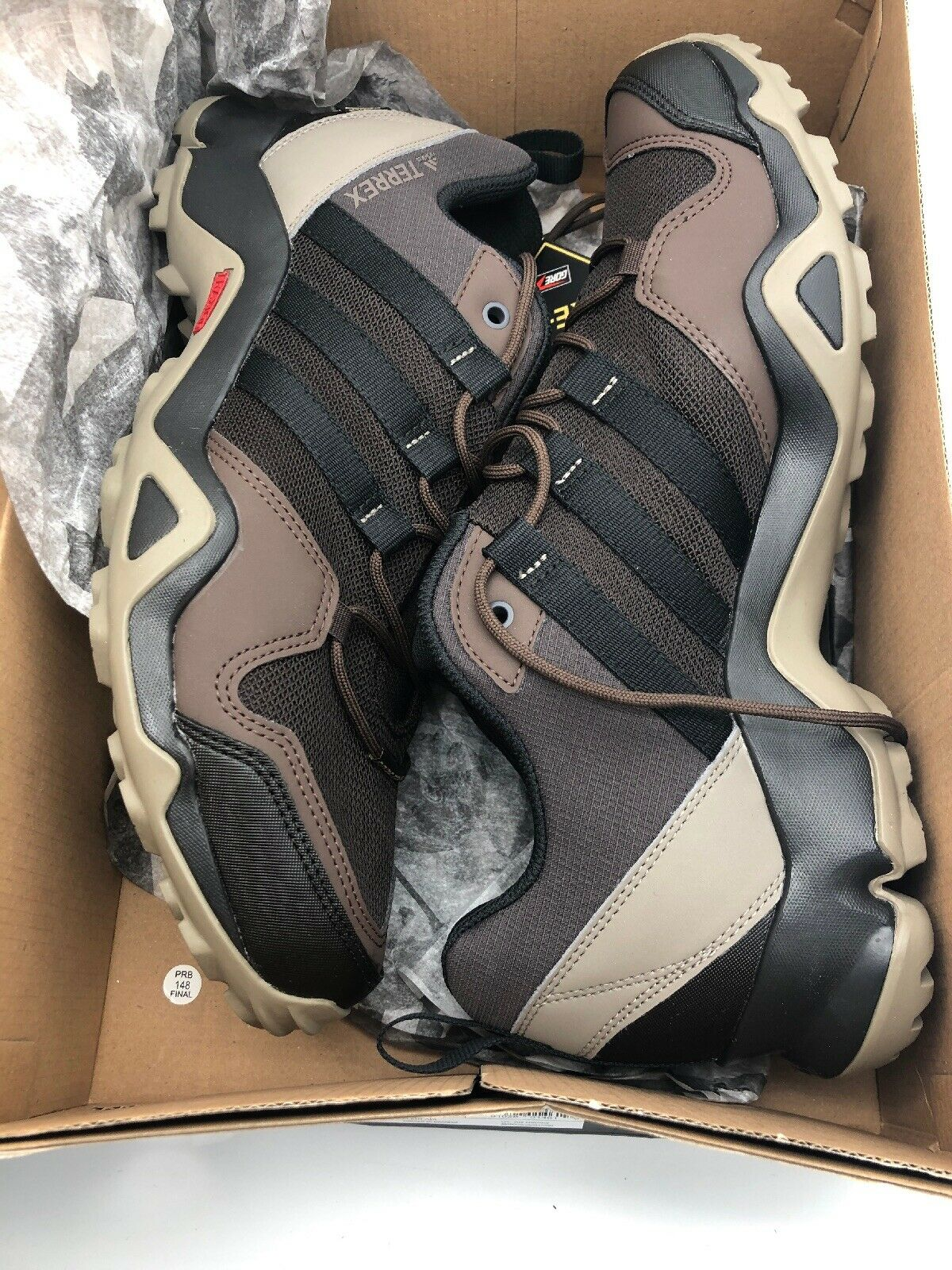 NIB  ADIDAS Mens 8.5 TERREX AX2R GORTEX CM7716 HIKING TRAIL OUTDOOR SHOE FAST    online