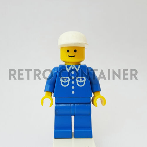 1x but016 LEGO Minifigures Man Classic Town Omino Minifig Set 6645