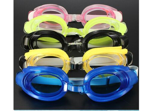 Anti-Fog Anti-UV Swimming Goggles Silicone Glasses for Kids Adults Ear Plug