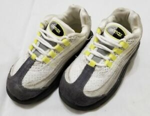 new style 0c672 9f109 ... inexpensive image is loading toddlers size 8c cool grey neon yellow nike  f643f ce2f7