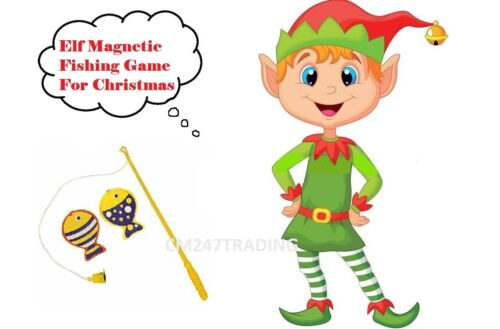 For on the shelf - Christmas Elf Game Prop ELF ACCESSORY Elf Fishing Game