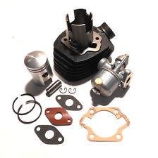 Simson SR1 SR2 SR 2 E Isolierplatte + Vergaser + Zylinder Kolben 2,3 PS für Moto