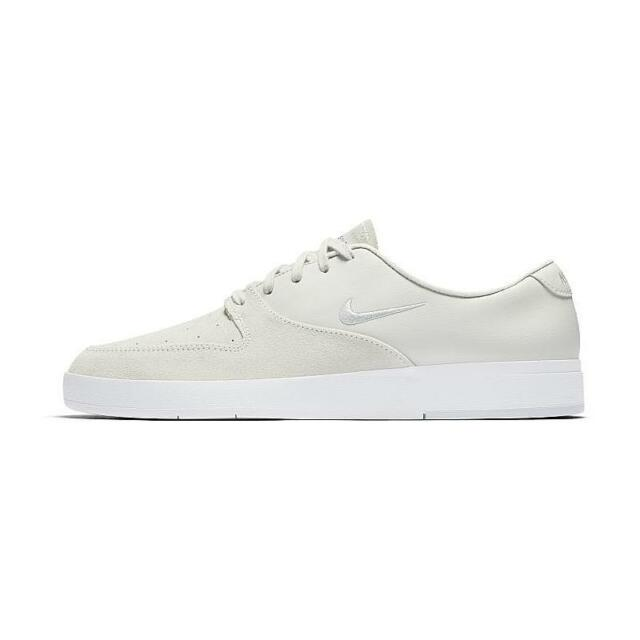 newest 732ce c0d5d NIKE SB ZOOM P-ROD X MEN S SKATE SHOES WHITE PURE PLATINUM 918304 101
