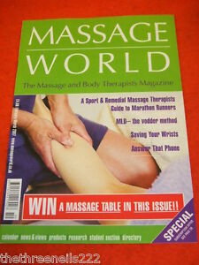 MASSAGE WORLD - GUIDE TO MARATHON RUNNERS - FEB 2007