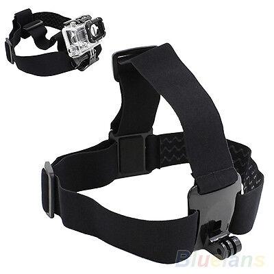 1pc Reusable Camera Head Strap Mount Belt Elastic Headband For GoPro HD Hero 2/3