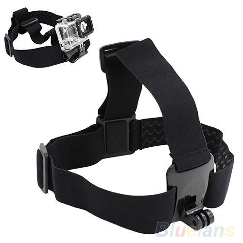 New Outdoor Camera Head Strap Mount Belt Elastic Headband For GoPro HD Hero 2/3