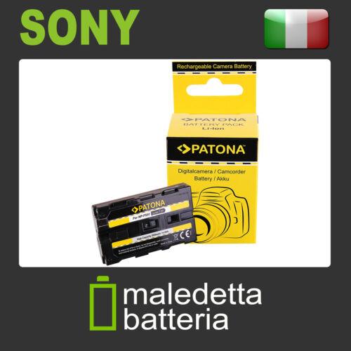 NP-F550 Batteria PATONA per Sony CCD-TRV66E