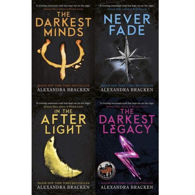 darkest minds collection by alexandra bracken 4 books set never fade