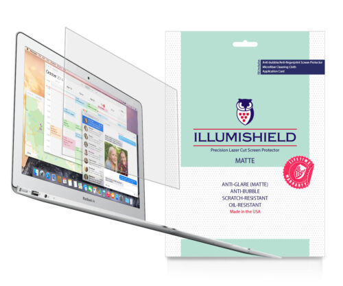 "iLLumiShield Matte Screen Protector Anti-Glare 2x MacBook Air 13.3/"" {MJVE2LL//A}"