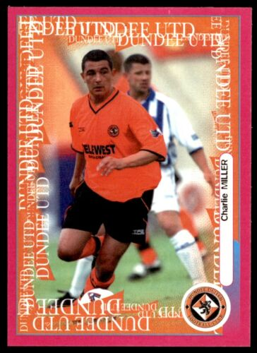 No 24 PANINI SPL Gomme Autocollants 2001-Charlie Miller Dundee United