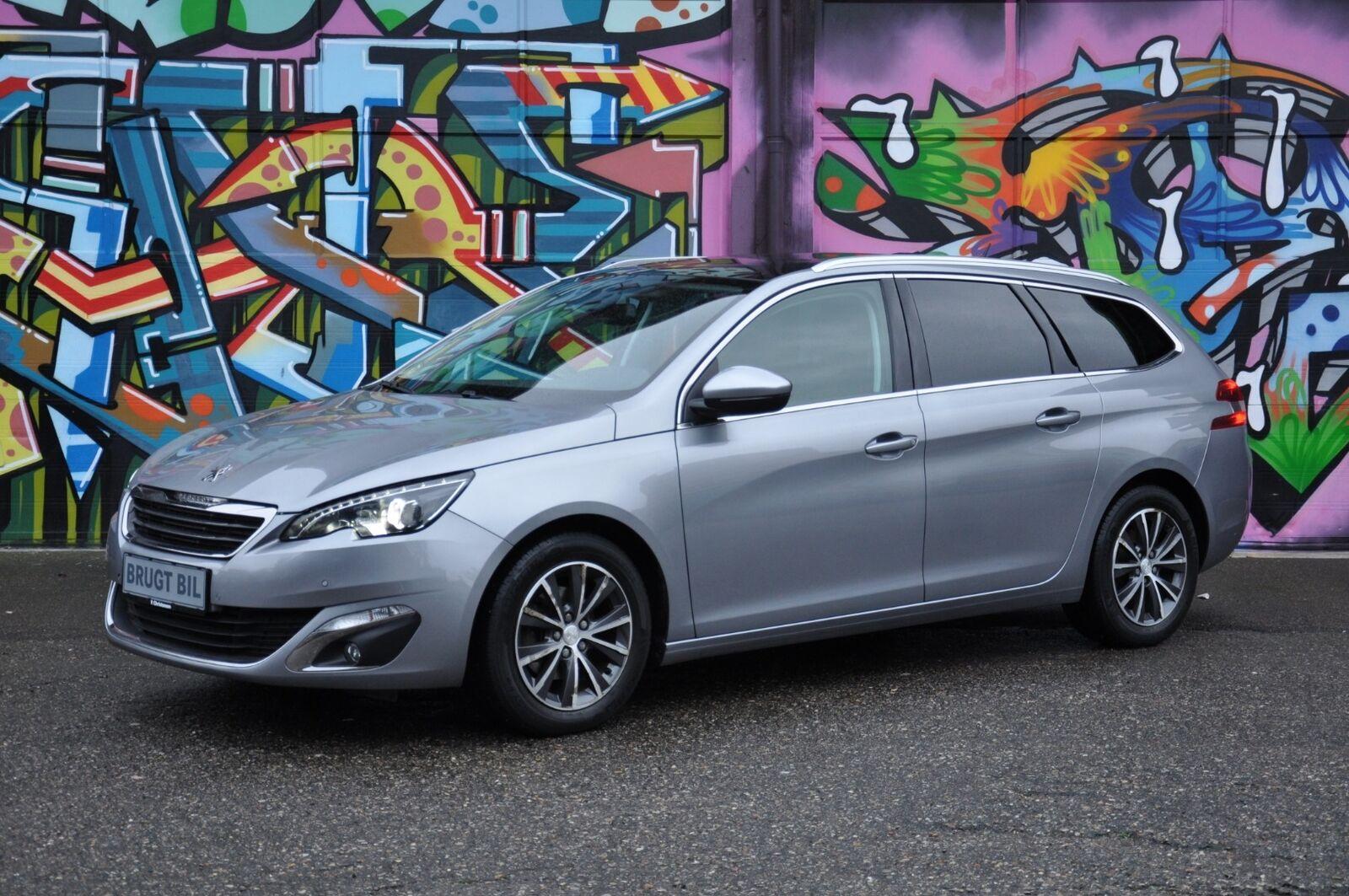 Peugeot 308 1,6 BlueHDi 120 Allure SW 5d - 144.900 kr.