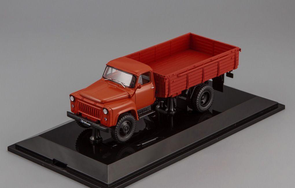 GAZ 53 F Orange avec des nombres 1 43 DIP Models 105301