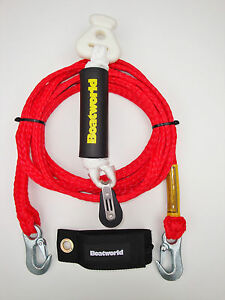 image is loading boatworld-hd-waterski-wakeboard-tow-rope-harness-bridle-