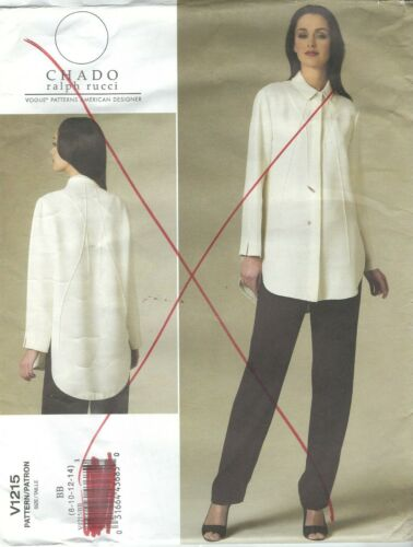 Vogue 1215 Misses/' Shirt and Pants   Sewing Pattern