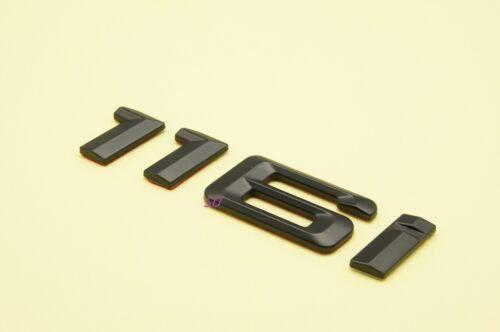 BLACK 116i REAR TRUNK LETTERS BADGE EMBLEM FOR BMW 1-SERIES E81 E87 E88 F20